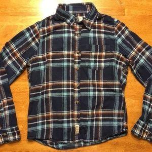 Hollister Women's Multi Color Dress Shirt - S: XS